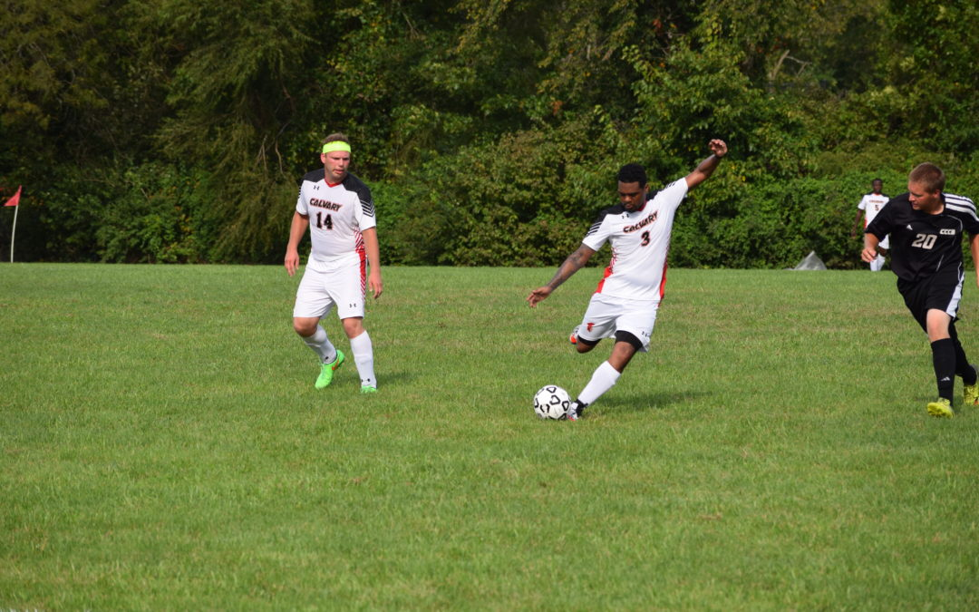 Calvary Soccer Earns First Win of the Season