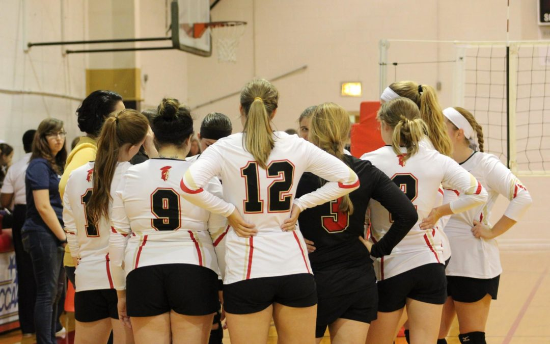 Volleyball Team Drops First Round of Regionals