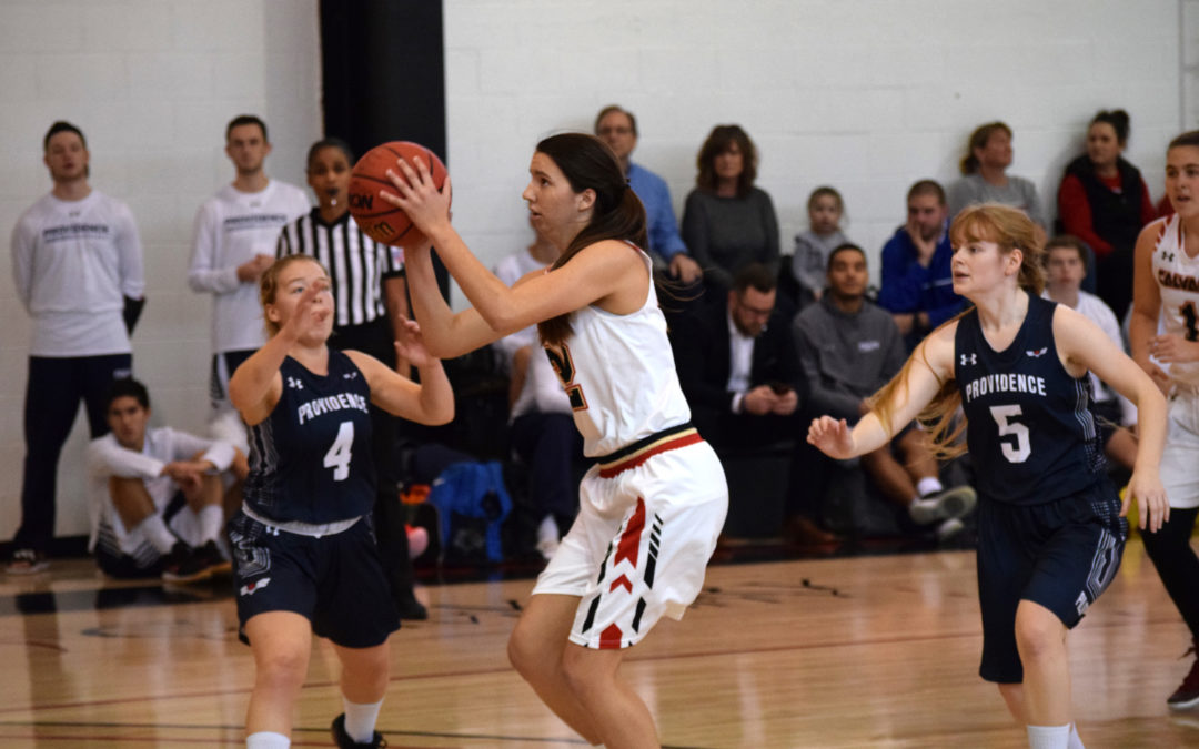 Lady Warriors Split Weekend Games