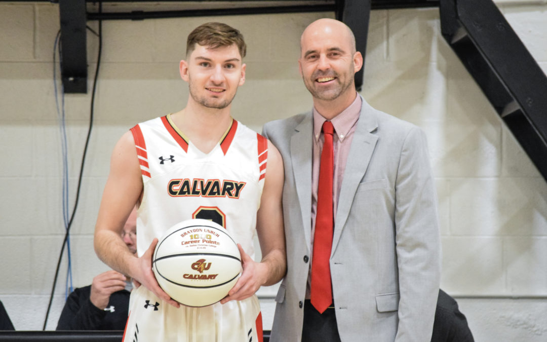 Braydon Unruh Joins 1000 Point Club