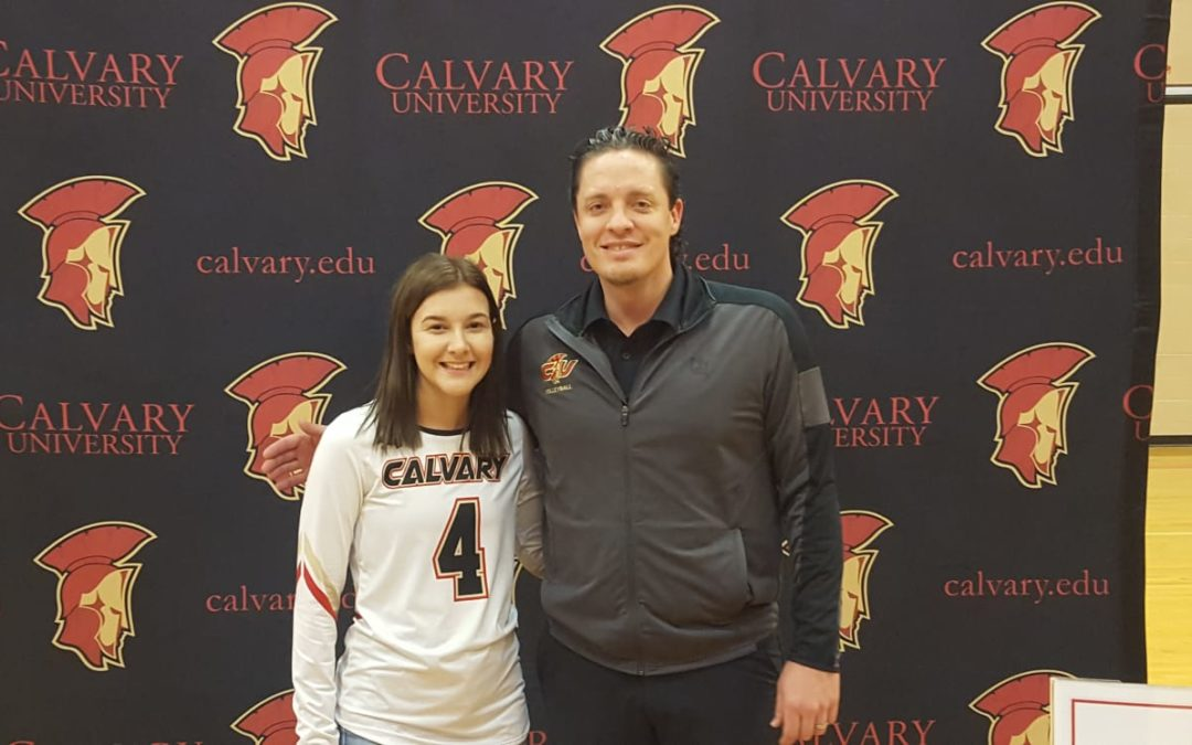 Calvary Signs Lexi Heaton